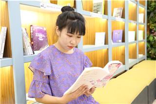 赵欢在读书